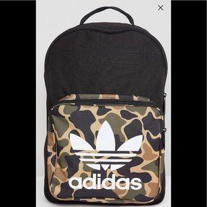 Adidas originals camouflage backpack